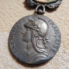 Militaria: FRANCIA. MEDALLA COLONIAL FRANCESA CON PASADOR MAROC MARRUECOS PLATA. Lote 246886100