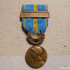 Militaria: FRANCIA. MEDALLA CONMEMORATIVA DE LAS OPERACIONES EN MEDIO ORIENTE 1956. Lote 246905310