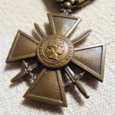 Militaria: FRANCIA. CRUZ DE GUERRA 1939 1940 WW2 PETAIN VICHY. Lote 246916535