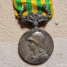Militaria: FRANCIA. MEDALLA CONMEMORATIVA DE LA EXPEDICIÓN A CHINA 1900 1901 PLATA. Lote 246917685