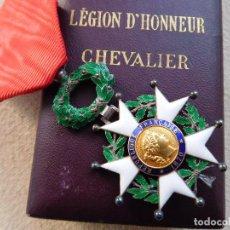 Militaria: FRANCIA. LEGIÓN DE HONOR III REPÚBLICA CABALLERO CON CAJA ORIGINAL PLATA 1870. Lote 246919795
