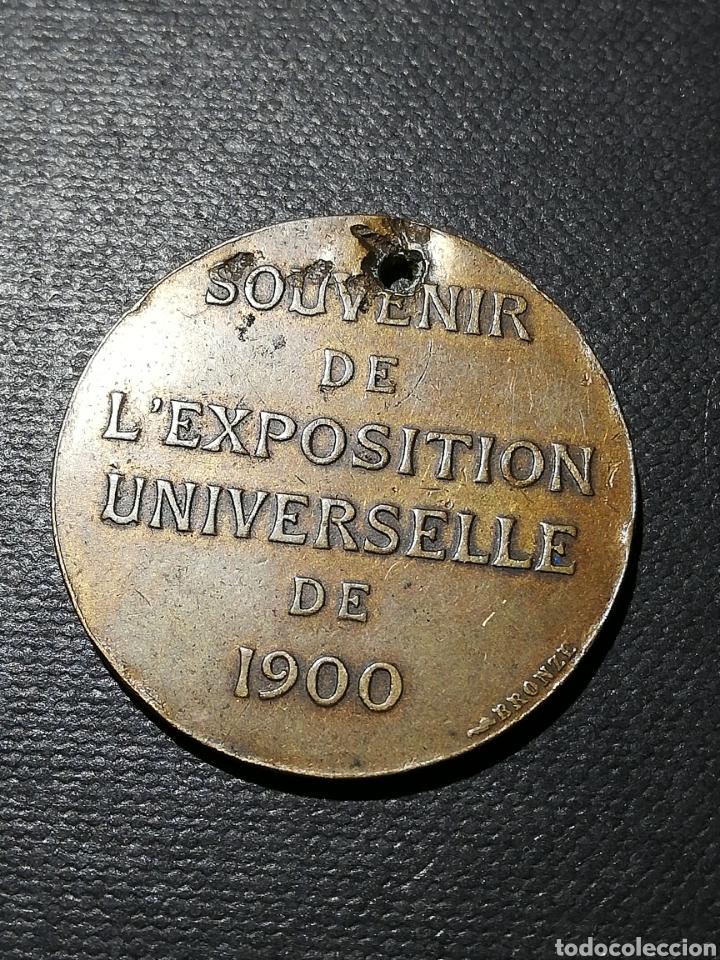 Militaria: Medalla Exposición Universal París 1900 - Foto 3 - 247000975