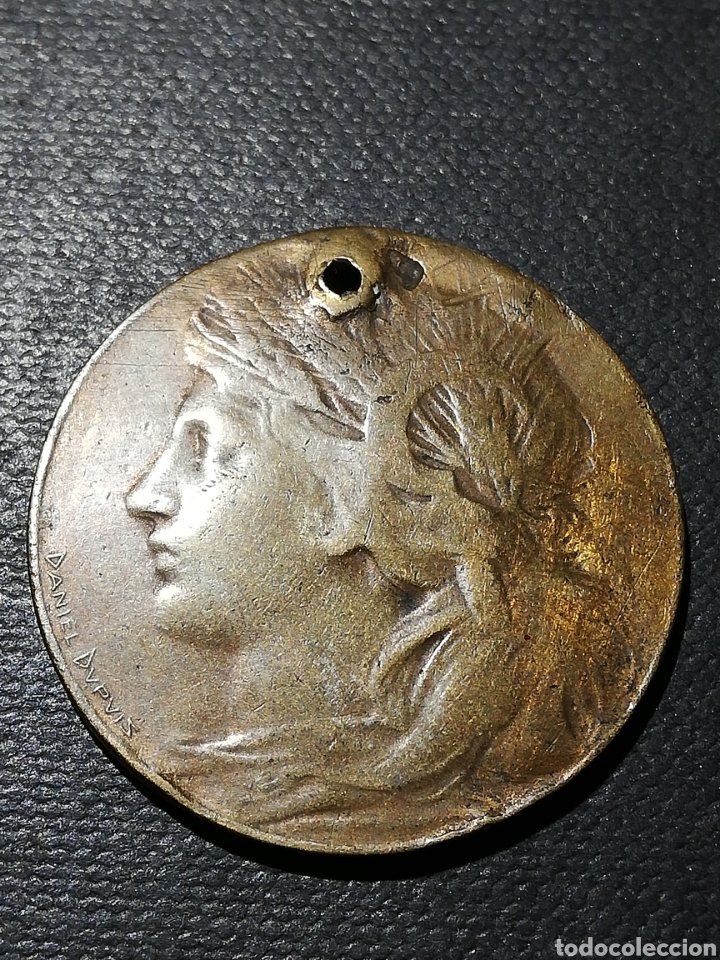 MEDALLA EXPOSICIÓN UNIVERSAL PARÍS 1900 (Militar - Medallas Internacionales Originales)