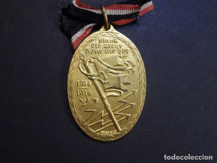 MEDALLA KYFFHAUSER EXCOMBATIENTES ALEMANES 1914-1918. REPUBLICA DE WEIMAR (Militar - Medallas Internacionales Originales)