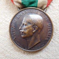 Militaria: ITALIA. MEDALLA UNIDAD DE ITALIA 1848 1918 1ª GUERRA MUNDIAL WW1. Lote 247701505