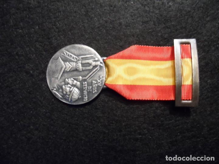 Militaria: MEDALLA XV AÑOS DE SERVICIO EMPRESA NACIONAL SIDERÚRGICA. SIGLO XX - Foto 5 - 248255050