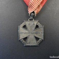 Militaria: MEDALLA CRUZ DE TROPA DEL EMPERADOR CARLOS I. KARL TRUPPENKREUZ. AUSTROHUNGARA. AÑO 1916. Lote 248256390