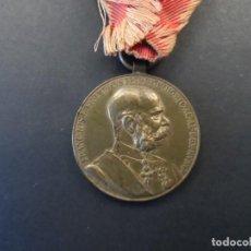 Militaria: MEDALLA SIGNUM MEMORIAE.50 AÑOS DE REINADO DEL EMPERADOR FRANCISCO JOSE I. AUSTRO-HUNGRIA. AÑO 1898. Lote 248258360
