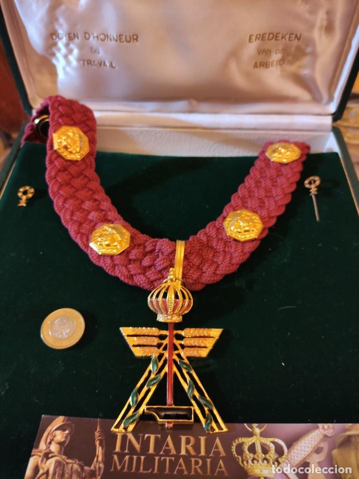 Militaria: Orden de mérito al trabajo de Bélgica - Foto 2 - 249592870