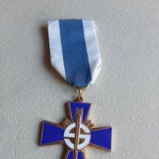 Militaria: FINLANDIA. MEDALLA CRUZ AZUL. AL VALOR.. Lote 251336040