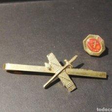 Militaria: AGUJA PASADOR CORBATA INSIGNIA GUARDIA CIVIL. Lote 251518865