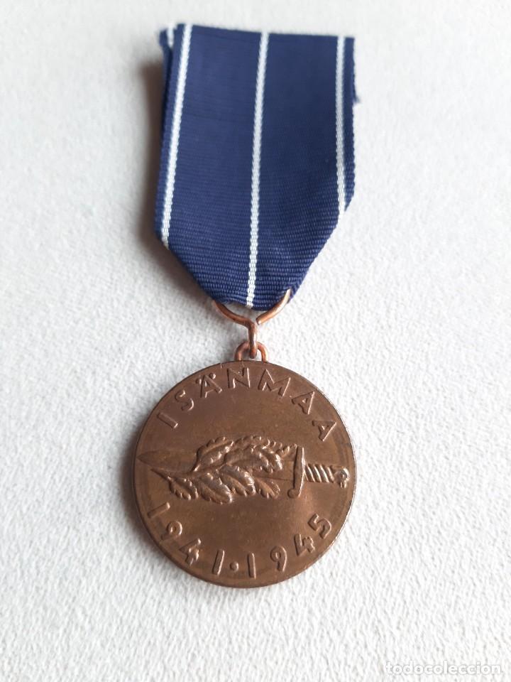 4. WW2. FINLANDIA. GUERRA DE CONTINUACIÓN.1941 1945 (Militar - Medallas Internacionales Originales)
