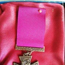 Militaria: REPLICA MEDALLA CRUZ VICTORIA VALOR INGLATERRA. Lote 252179735