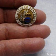 Militaria: ESCUSON CENTRO MEDALLA ORDEN ISABEL LA CATOLICA CON SU LACRE TRASERO DE CASTELLS. Lote 252391475