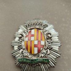 Militaria: PLACA AUXILIAR GUARDIA URBANA BARCELONA.. Lote 252665230