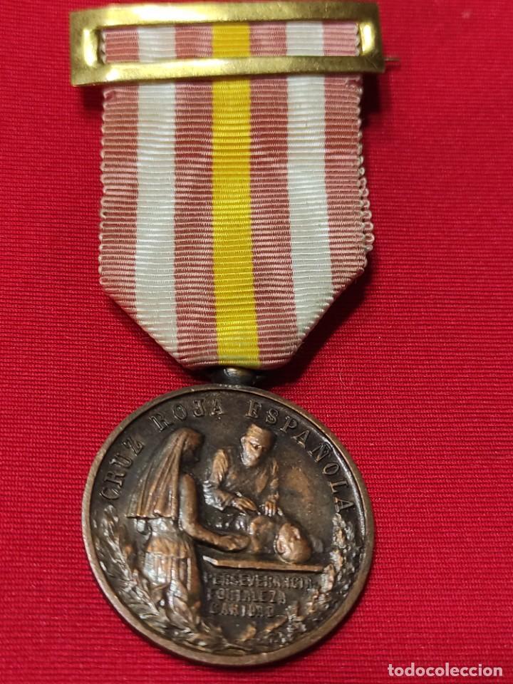 MEDALLA DE CONSTANCIA DE ENFERMERAS DE LA CRUZ ROJA (Militar - Medallas Españolas Originales )