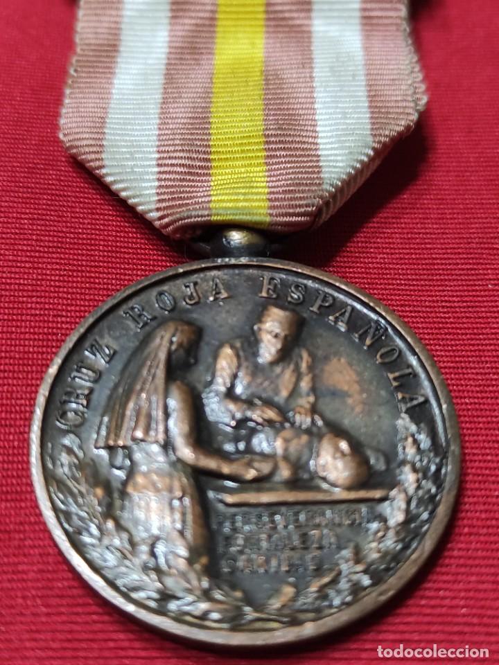 Militaria: Medalla de constancia de enfermeras de la cruz roja - Foto 4 - 252870855