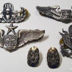 Militaria: INSIGNIAS DE VETERANO DE LAS FUERZAS AEREAS U.S.A.EN LAS GUERRAS DE COREA Y VIETNAM.. Lote 252941790