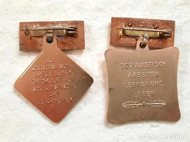 Militaria: 2 insignias o medallas alemanas - Foto 3 - 253440745