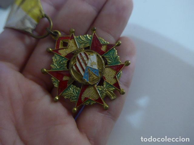 Militaria: Antigua medalla española a identificar - Foto 2 - 254282795