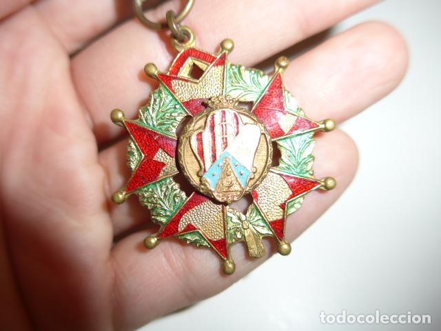 Militaria: Antigua medalla española a identificar - Foto 3 - 254282795