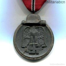 Militaria: ALEMANIA III REICH. MEDALLA DEL PRIMER INVIERNO EN RUSIA. WINTERSCHLACHT IM OSTEN MEDAILLE.. Lote 254393830