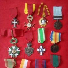 Militaria: LOTE DE 12 MEDALLAS DE VARIOS PAISES, REPLICAS.. Lote 254479465