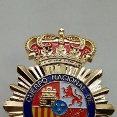 Militaria: REPLICA PLACA POLICIA NACIONAL 120 MM. Lote 254698040