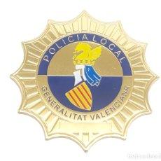 Militaria: PLACA POLICIA LOCAL GENERALITAT VALENCIANA. Lote 254727520