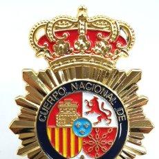 Militaria: PLACA CUERPO NACIONAL DE POLICIA REGLAMENTARIA. Lote 254755575
