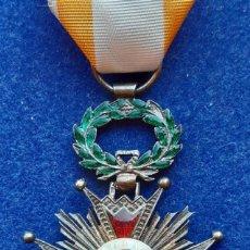 Militaria: CRUZ DE CABALLERO DE LA ORDEN DE ISABEL LA CATOLICA - EPOCA ISABEL II. Lote 255359490