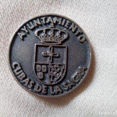 Militaria: MEDALLA AYUNTAMIENTO CUBAS DE LA SAGRA 2007. Lote 255367060