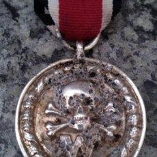 Militaria: INTERESANTE MEDALLA ALEMANIA NAZI III REICH DIVISIONES DE COMBATE CALAVERA 2ªG.M DE LAS WAFFEN SS. Lote 255966085