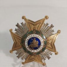 Militaria: PLACA SAN HERMENEGILDO CON CUARTELES DE LA EPOCA ALFONSINA. Lote 256132550