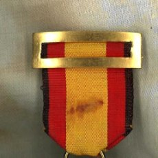 Militaria: MEDALLA DE LA CAMPAÑA GUERRA CIVIL 1936-39. EGAÑA, RIBETE NEGRO DE VANGUARDIA. Lote 257475400