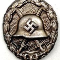 Militaria: ALEMANIA. PLACA DE HERIDO PLATA LEGIÓN CÓNDOR. 1937.. Lote 257556160