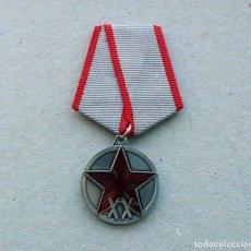 Militaria: MEDALLA. 20 AÑOS DEL EJÉRCITO ROJO. URSS. Lote 258205210