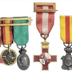 Militaria: 7 MEDALLAS CONDECORACIONES EBC. Lote 258809230
