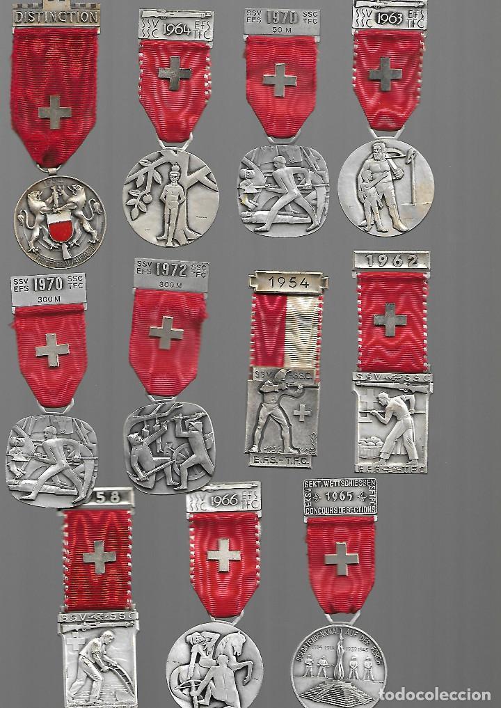BONITA COLECCION ANTIGUA DE MEDALLAS DE GUERREROS Y SOLDADOS EN PERFECTO ESTADO (Militar - Medallas Internacionales Originales)