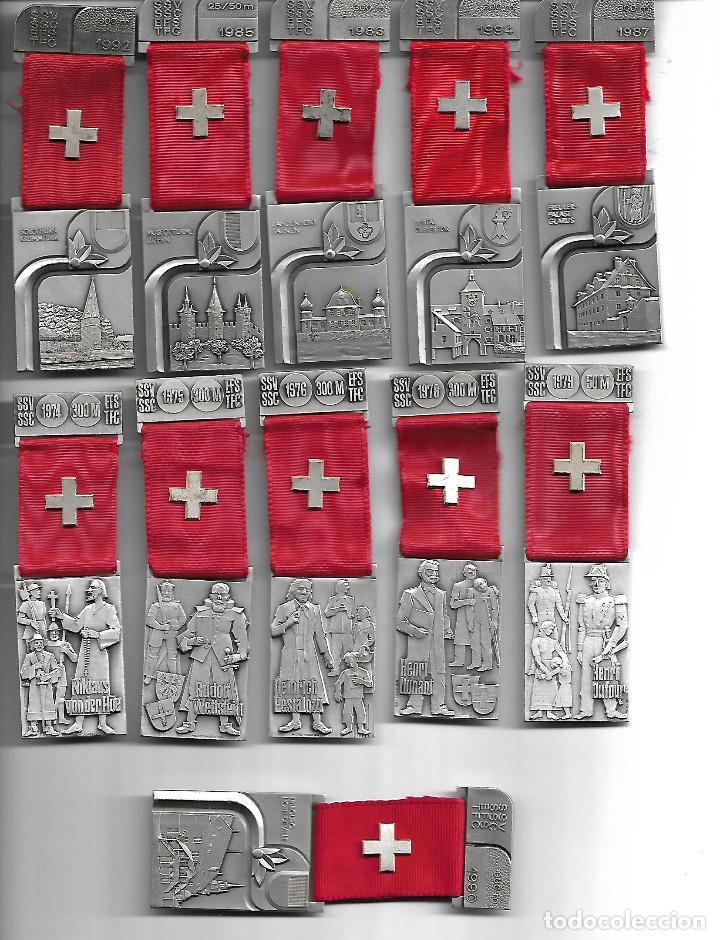 BONITA COLECCION ANTIGUA DE MEDALLAS DE PERSONAJES Y CIUDADES EN PERFECTO ESTADO (Militar - Medallas Internacionales Originales)