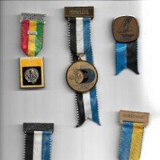 Militaria: BONITA COLECCION ANTIGUA DE MEDALLAS DE VARIOS TIPOS EN PERFECTO ESTADO. Lote 259916510