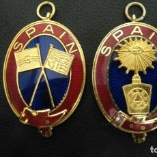 Militaria: MEDALLAS MASONICAS SPAIN LOGIA MASON MASONERIA. Lote 260497510