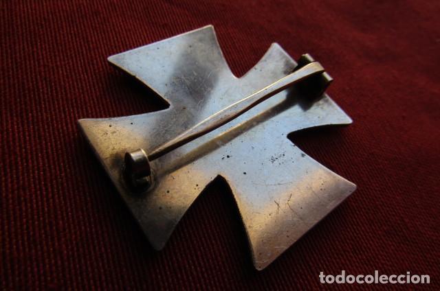 Militaria: Medalla alemana II segunda guerra mundial Cruz de Hierro de I primera clase III tercer Reich alemán - Foto 5 - 260567840
