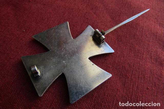 Militaria: Medalla alemana II segunda guerra mundial Cruz de Hierro de I primera clase III tercer Reich alemán - Foto 8 - 260567840