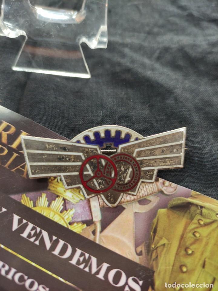 Militaria: Medalla de curso de automóviles del ejercito español - Foto 2 - 260827775
