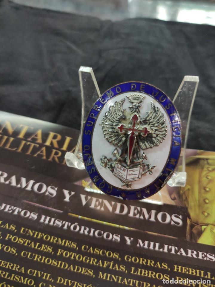MEDALLA DEL CONSEJO SUPREMO DE JUSTICIA MILITAR (Militar - Medallas Españolas Originales )