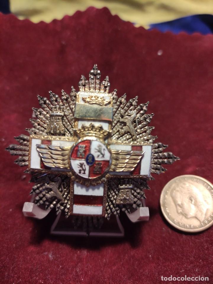 PLACA AL MÉRITO MILITAR AÉREO (Militar - Medallas Españolas Originales )