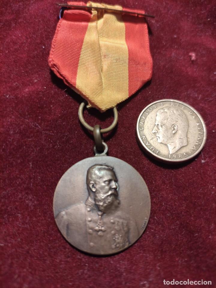 MEDALLA CARLISTA 1875 (Militar - Medallas Españolas Originales )