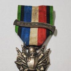 Militaria: MEDALLA AL VALOR DE LOS CORACEROS DE FRANCIA DURANTE LA GUERRA FRANCO PRUSIANA DEL AÑO 1870.. Lote 261272660