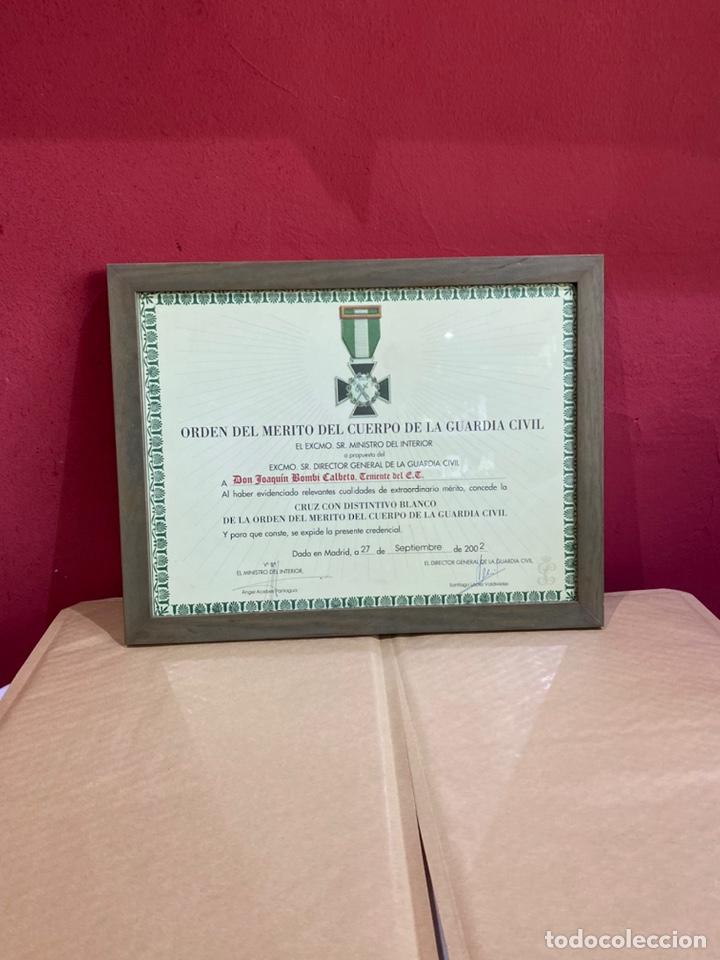 ORDEN DEL MÉRITO DEL CUERPO DE LA GUARDIA CIVIL EXCMO SR.DIRECTOR GENERAL DE LA GUARDIA CIVIL 2002 (Militar - Medallas Españolas Originales )